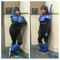 'Jeimi' Reyes - Blue Beetle (Genderbent)