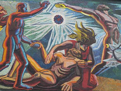 Mural en Ciudad Universitaria