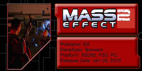 Mass Effect 2 Blog Banner by AJTheSilverBullet