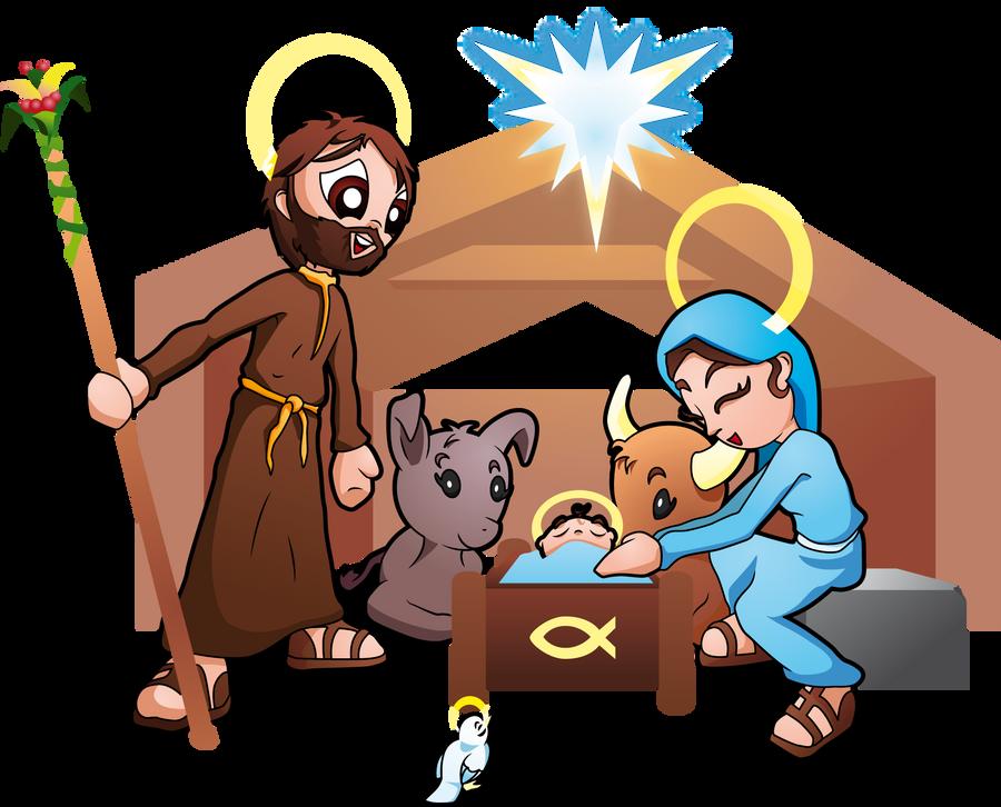 Nativity - Happy Christmas by Bastonivo