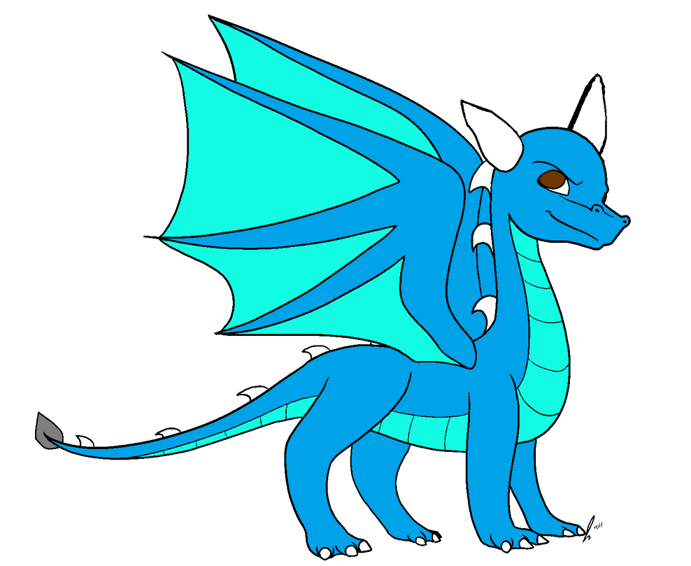 Me as a dragoness by ZombieCharmanderGirl