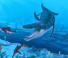 Pliosaur by Promilie