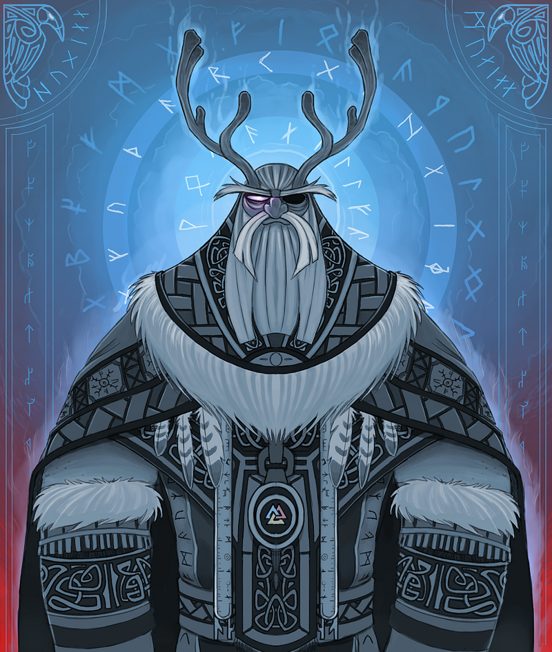 ODIN Allfather by Olafski