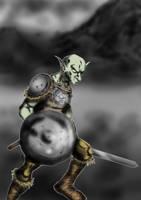 Goblin in photoshop by Galhardo
