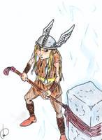 Child Thor by Galhardo