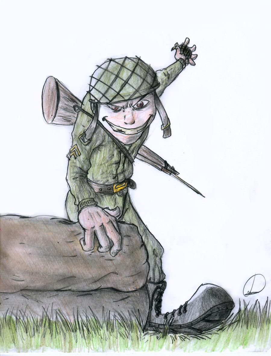 Crazy Soldier by Galhardo on DeviantArt
