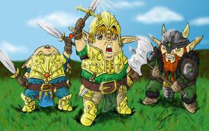Little Warriors by Galhardo