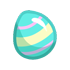 Easter Egg - Blue by Mothkitten