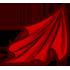 Fabric - Red by Mothkitten