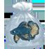 Fish - Betta: Blue by Mothkitten