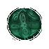 Mysterious Coin   - Malachite by Mothkitten