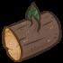 Wood - Log by Mothkitten