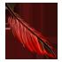 Feather - Red by Mothkitten