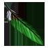 Feather - Green by Mothkitten