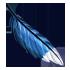 Feather - Blue by Mothkitten