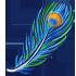 Feather - Blue Peacock by Mothkitten