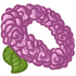 Flower Crown - Rose: Pink by Mothkitten