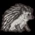 Hedgehog - Dull by Mothkitten