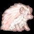 Hedgehog - Albino by Mothkitten