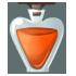 Orange Dye Bottle by Mothkitten