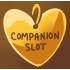 1 Gold Companion Slot by Mothkitten