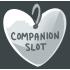 1 Silver Companion Slot by Mothkitten