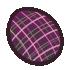 Goos Egg #13 - Inadvisable Plaid by Mothkitten