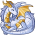 Tiny Dragon - Gold by Mothkitten