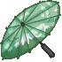 Mountain Parasol - Green by Mothkitten