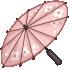 Cherry Blossom Parasol - Pink by Mothkitten