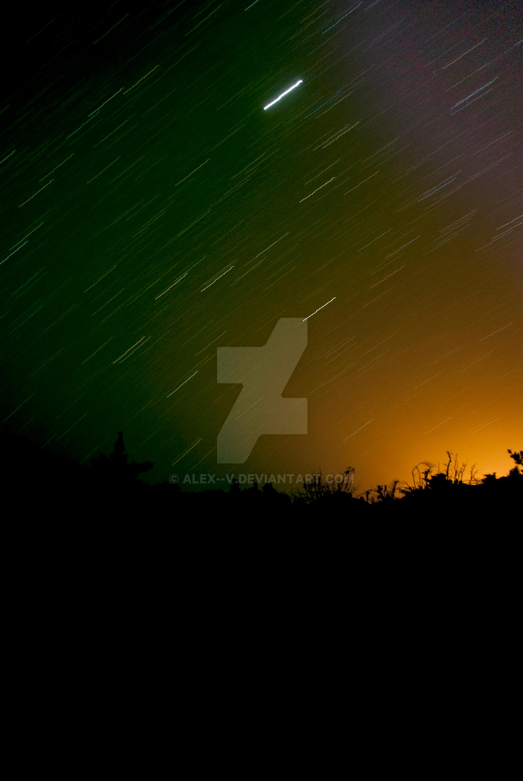 sky of  little island... by alex--v