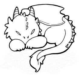 [F2U] Small Dragon Lines by envandrare