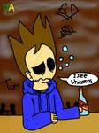 Eddsworld:Tom in a bar