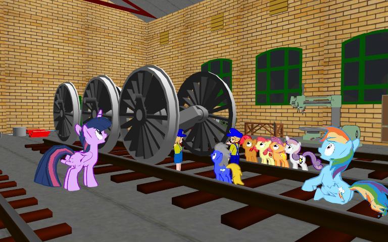 New Train Wheels by Tonypilot
