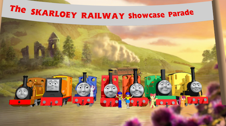 Skarloey Parade Banner by Tonypilot