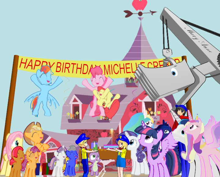 Happy Birthday Michelle Creber by Tonypilot