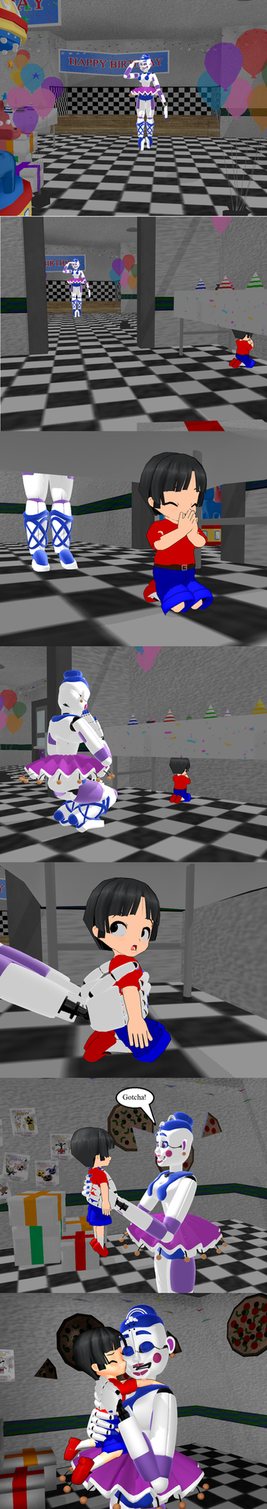 Hide and Seek with Tim and Ballora by Tonypilot