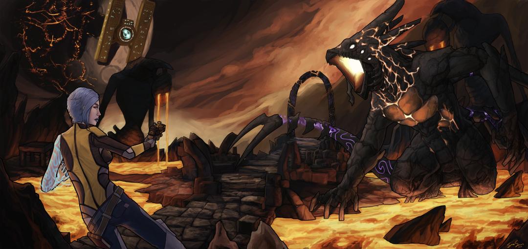 Vault of the Warrior by fish-bonez