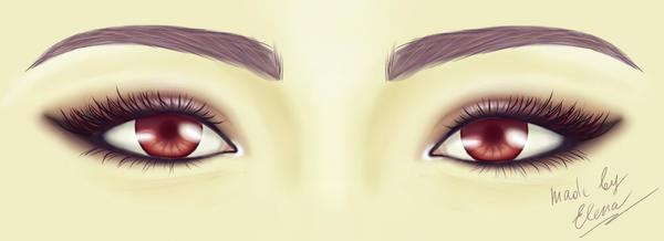 Eyes by elen21nele