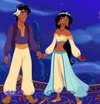 Disney Reverse Tales: Jasmine and Aladdin