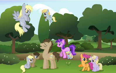 Request: Hooves Family by Alvaera