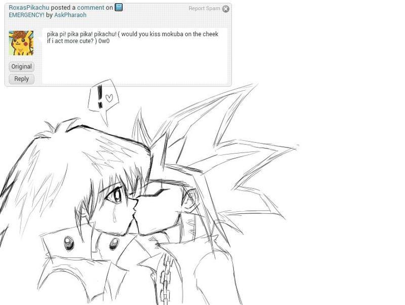 Q 13 - kiss Mokuba? by AskPharaoh