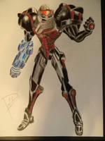 Phazon Suit Samus by imPauleyPaul