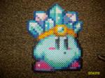 Ice Kirby Bead Sprite