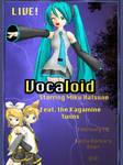 Vocaloid concert poster