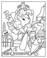 Pinkie Pipe -Line Art- by Smashinator