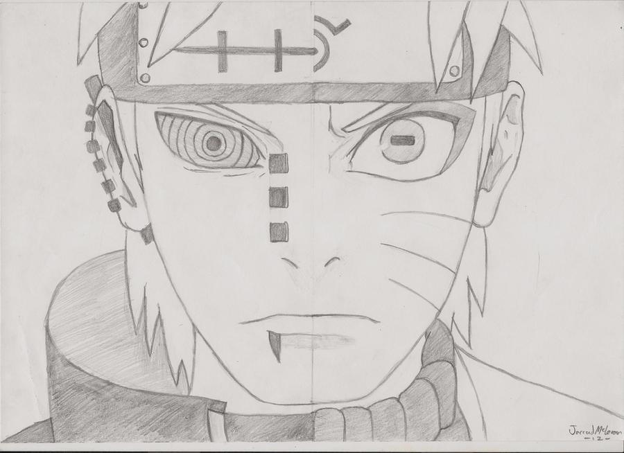 Madara Drawing In Pencil Naruto vs. Pain by Rud...