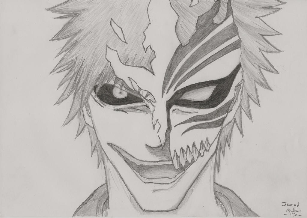 Ichigo Kurosaki Half Hollow By RudeKaiser396 On DeviantArt