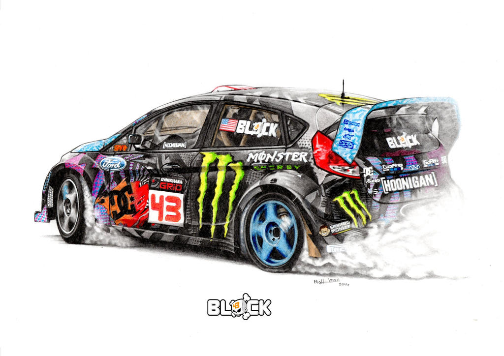 Ken Block Fiesta 2014 Intrepid Portrayals by froggstomper79