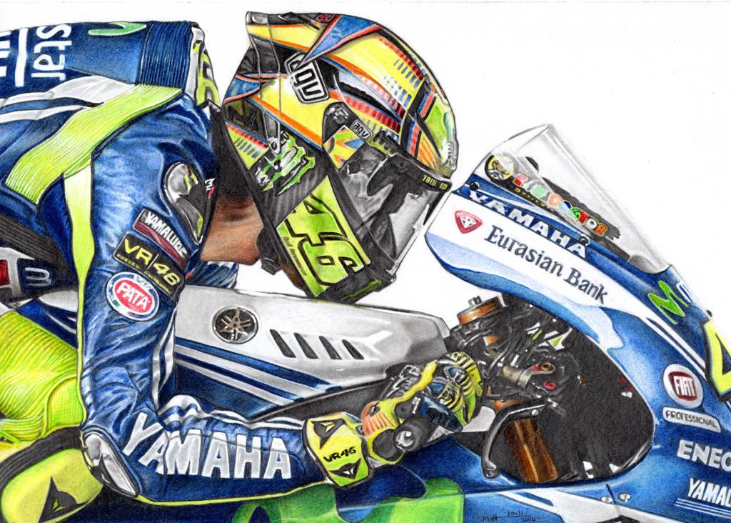 Valentino Rossi 2014 by froggstomper79